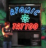 Atomic Tattoo in Hollywood, CA.
