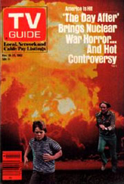 THE DAY AFTER cover of TV Guide
